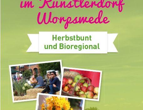 16. Worpsweder Bauernmarkt: Sonntag, 8. September 2019