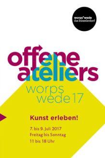 Broschüre offene ateliers Worpswede 17