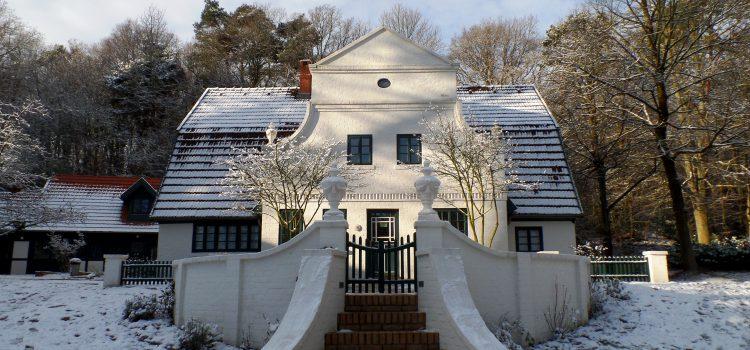 Zauberhafte Winterruhe im Künstler(moor)dorf