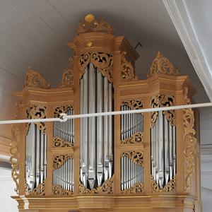 Die neue Orgel